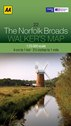 AA Walker's Map - The Norfolk Broads