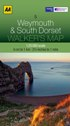 AA Walker's Map - Weymouth & South Dorset