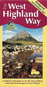 Footprint Map - The West Highland Way