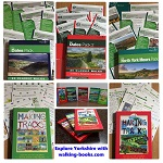 Yorkshire Dales and Moors - FIVE book set of our unique walking guides